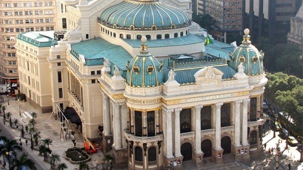 Teatro Municipal e Museu de Belas Artes